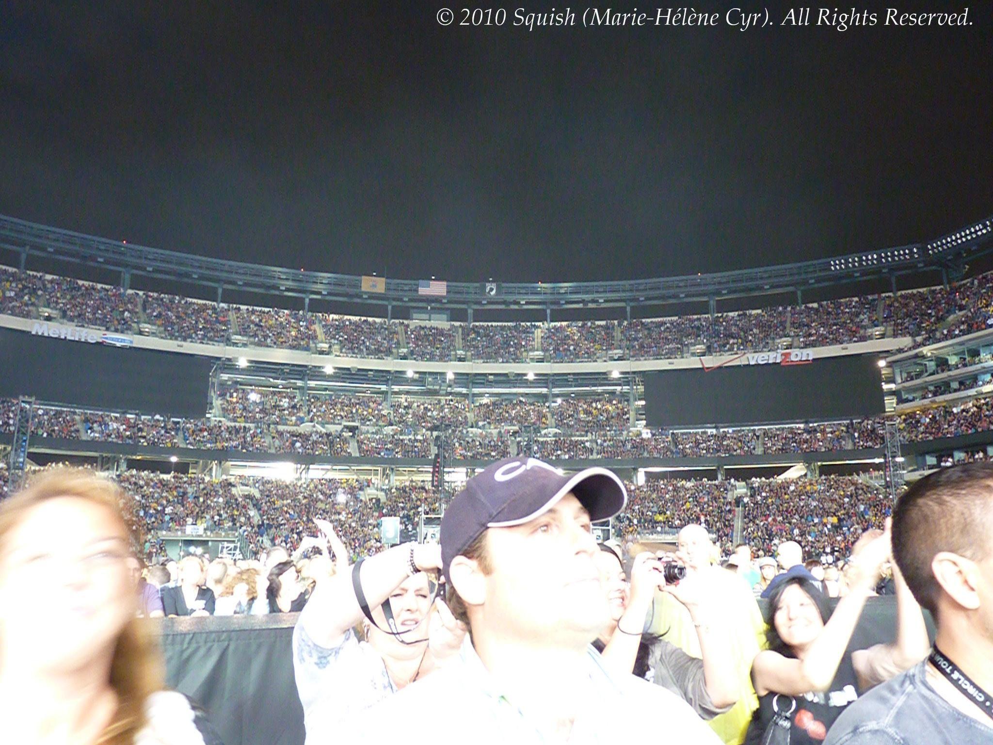 Spectacle de Bon Jovi au New Meadowlands Stadium, NJ, États-Unis (27 mai 2010)